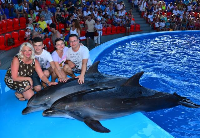 Дельфинарий в СочиПарке